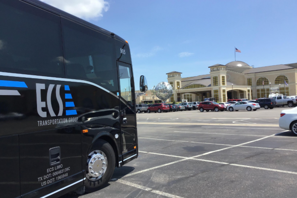 Group Transportation to Winstar from Dallas!