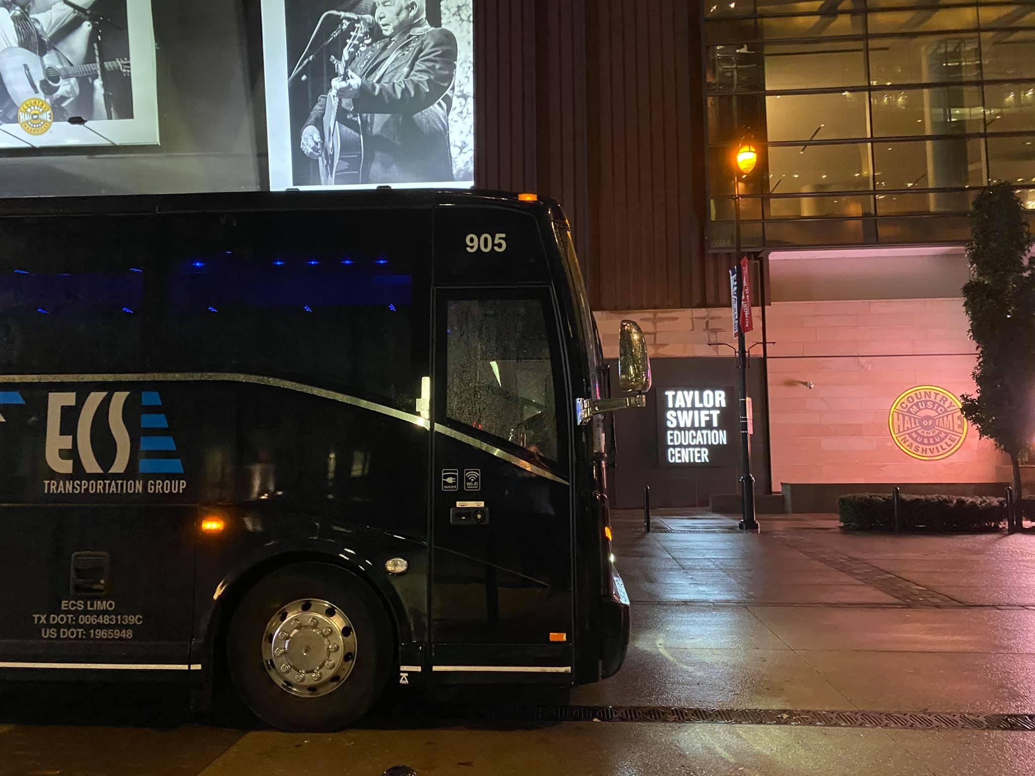 Dallas Charter Bus Group Transportation to Nashville, TN!