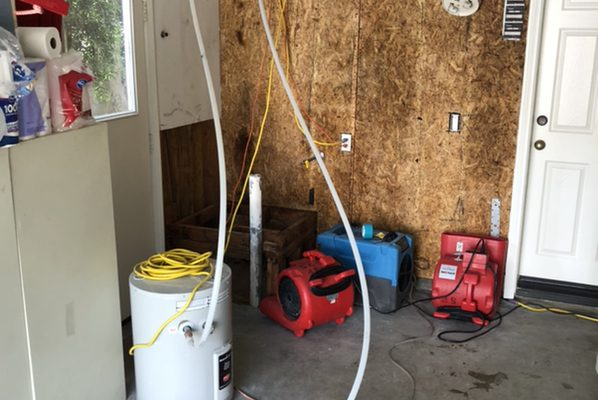Water Damage Cleanup and Restoration in Tustin, CA