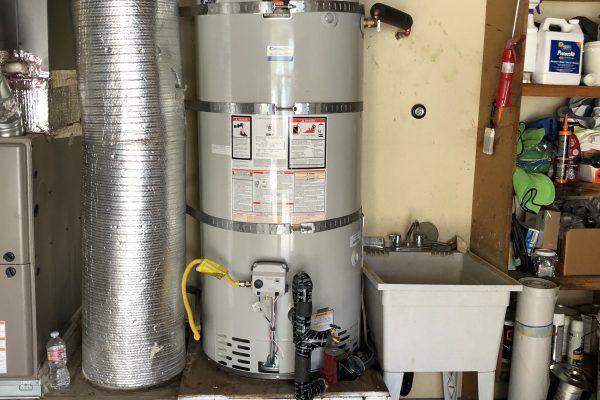 50-Gallon Water Heater Install