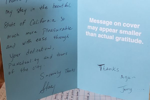A Special Thank You From One of Our Satisfied Customers!
