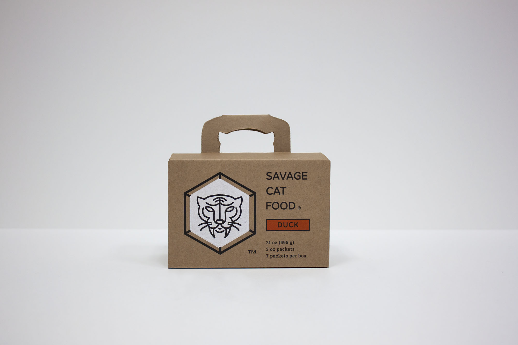 Savage Cat Food | Custom Corrugated Boxes