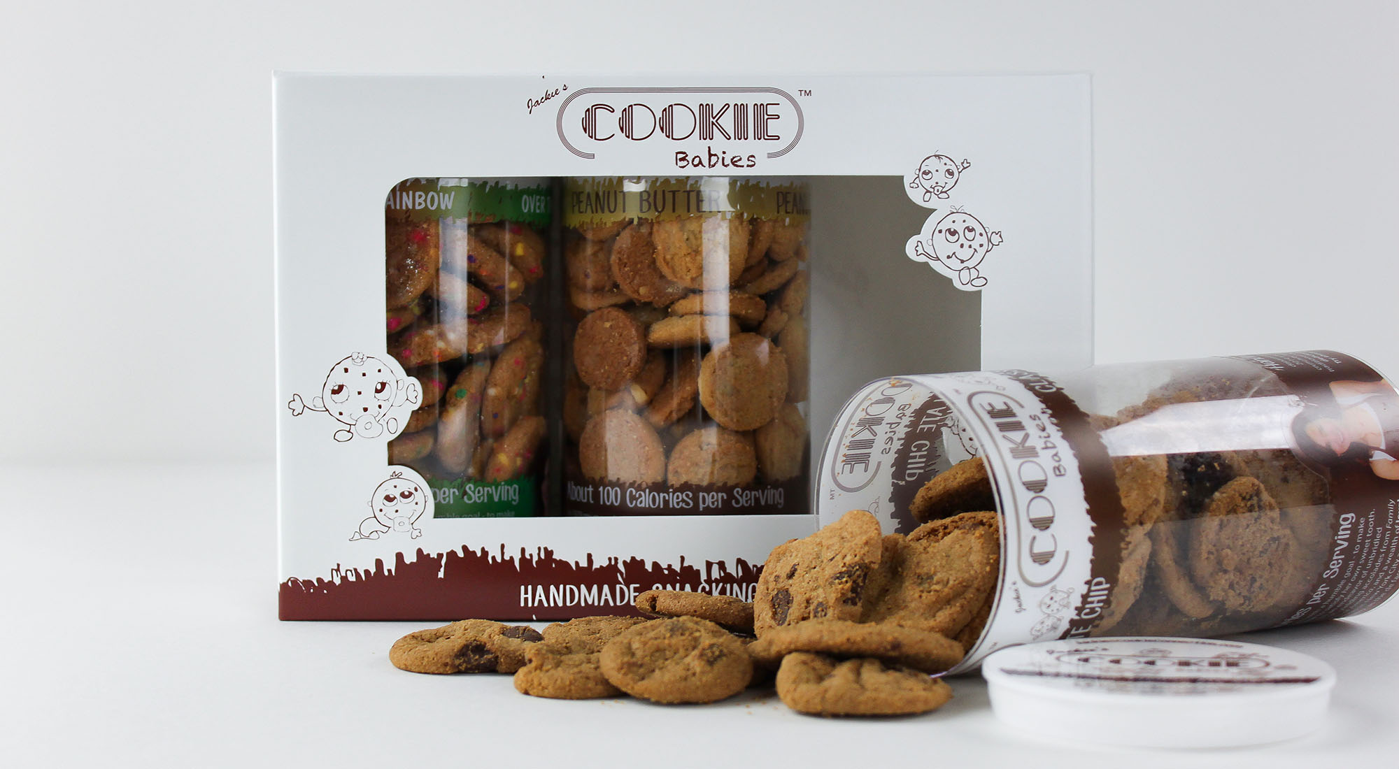 Custom Chipboard Product Boxes and Displays | Cookie Babies