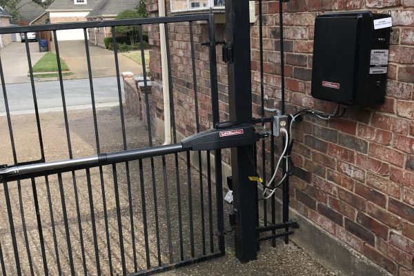 Electric Gate Operator Installation in Dallas, TX