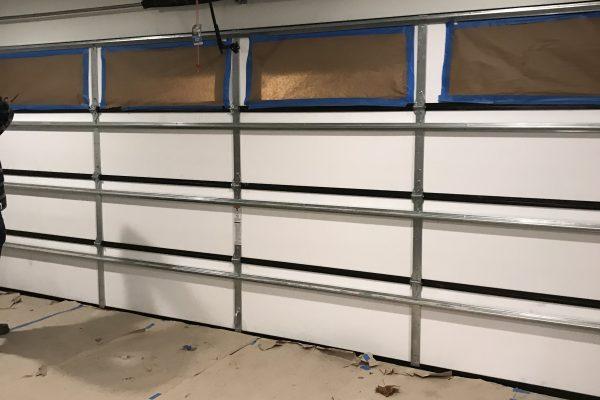 New Garage Door install in Dallas, Texas