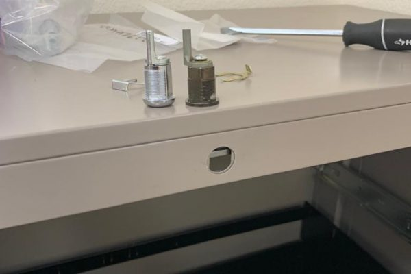 File Cabinet Lock Replacement in Henderson
