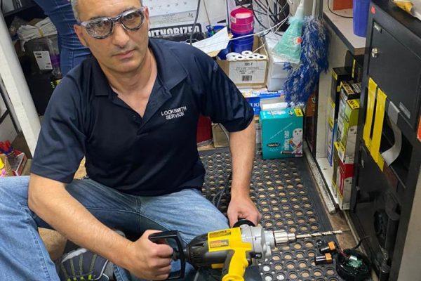 Safe Drill and Keypad Installation in Henderson