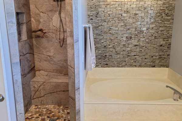 Shower and Bath Remodel in Plano