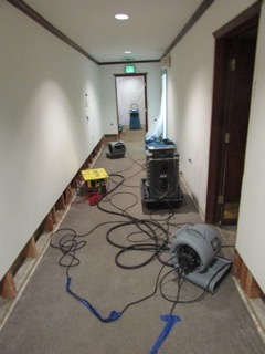 Commercial Water Damage Cleanup, West Hills, California