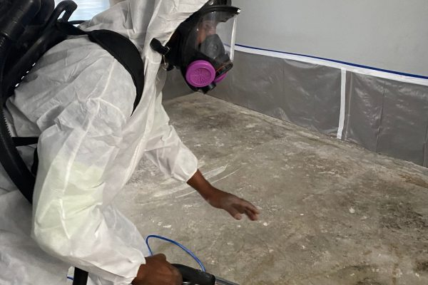 Category 3 Mold Remediation From A Slab Leak