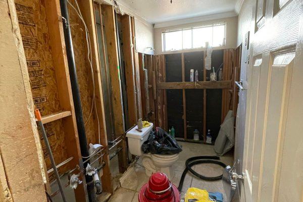 Supply Line Mold Damage in Murrieta, CA