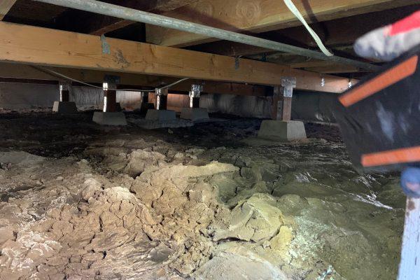 Crawl Space Water Damage in San Diego