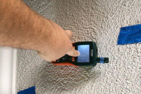 Post Remediation inspection in Escondido, CA
