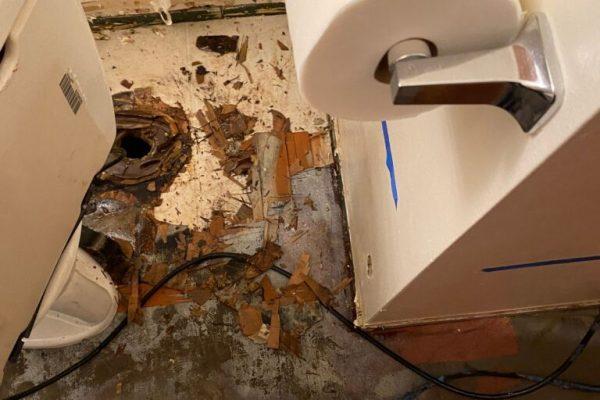 Mold Bathroom Inspection in Vista, CA