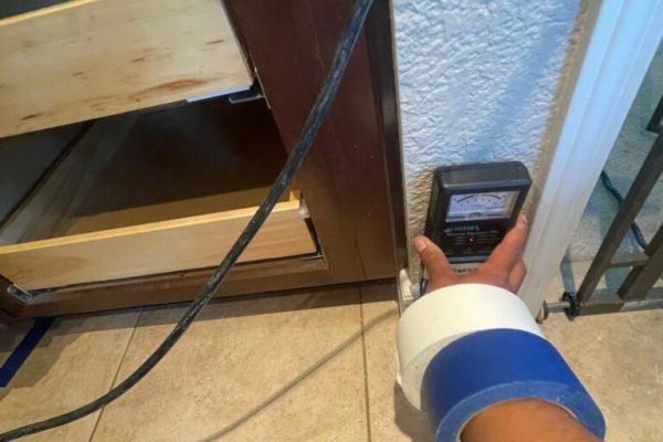 Kitchen Sink Water Damage Repair in Vista, CA