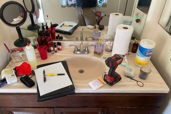 Bathroom Mold Inspection in Escondido, CA