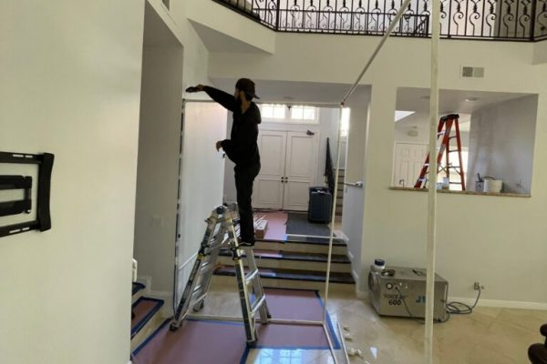 Full House Mold Remediation Test in Del Mar, CA