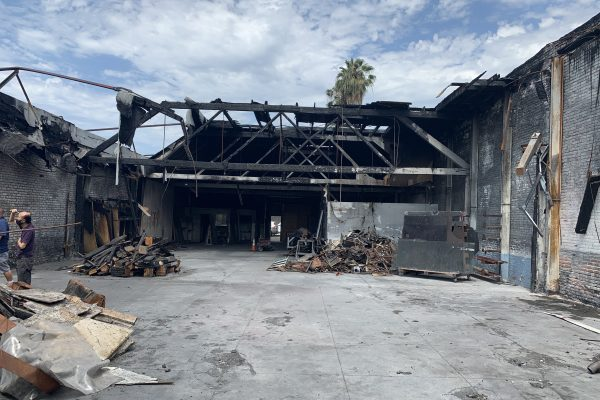 Commercial Fire Loss Claim in Los Angeles