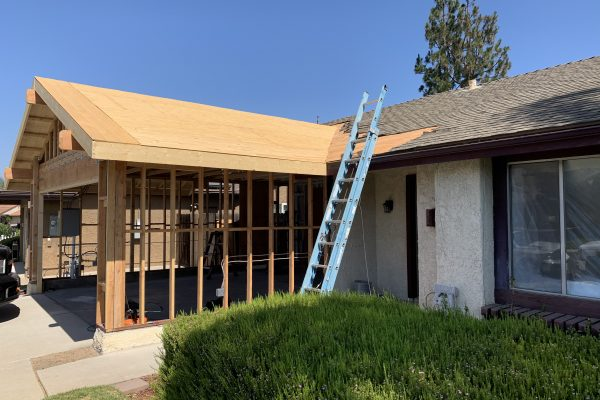 Remodel Progress From a House Fire in Camarillo